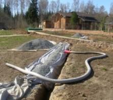 Дренаж – необходимый процесс ландшафтных работ