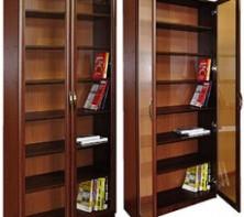 Шкафы для книг: как правильно выбрать и где приобрести?