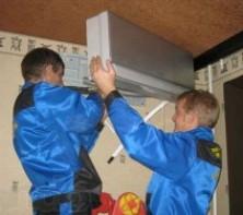 Монтаж инженерных систем в загородном доме: монтаж кондиционеров