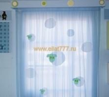 Оформление детской комнаты: выбираем шторы