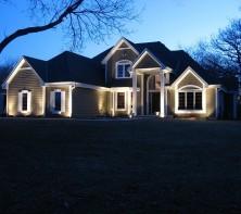 Архитектурная подсветка дома: создаем идиллию сказки