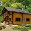 Загородный дом из клееного бруса